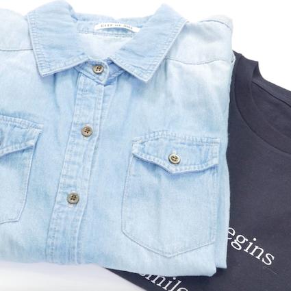 【DIY】シャツを素早く綺麗に畳む方法