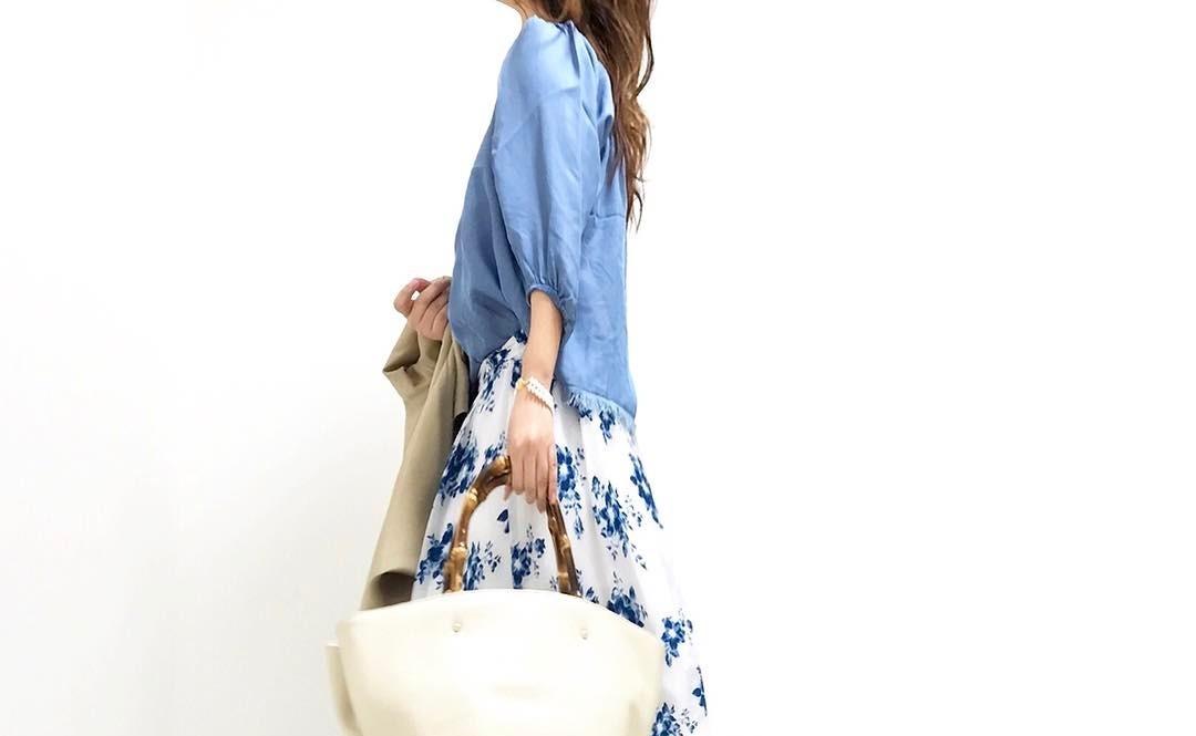 大人女子のファッションはバッグがポイント!レザートートバッグでおしゃれな春夏コーデ