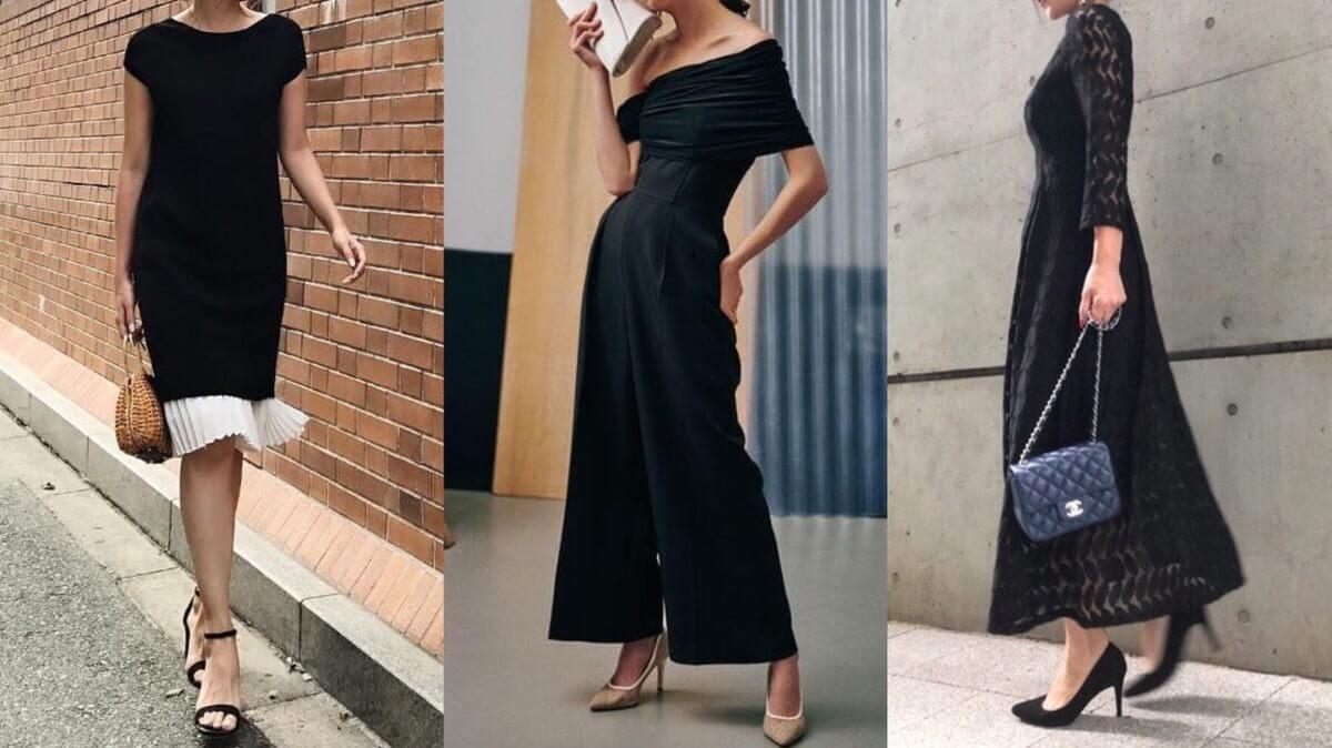 黒ドレス特集
