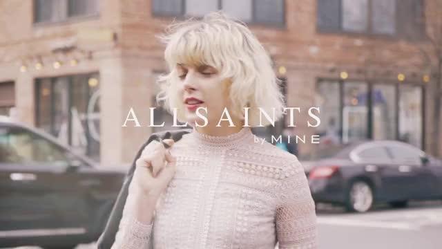 ドレスアップしたい日はALLSAINTSの大人ワンピで! in NEW YORK